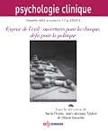 Psychologie Clinique Image de couverture